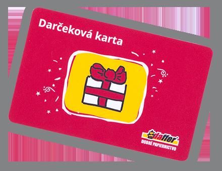 Darčeková karta Daffer