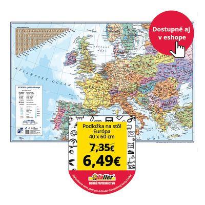 Podložka na stôl Európa