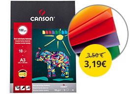Blok farebných papierov Canson