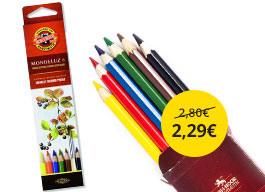 Akvarelové pastelky Mondeluz