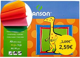 Skicár Canson A3