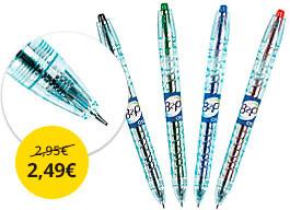 Gélové pero Pilot z recyklovaných fliaš