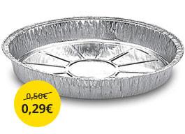 Hliníkový tanier
