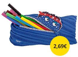 Peračník ZipIt Monstar modrý