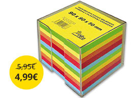 Farebný blok kocka