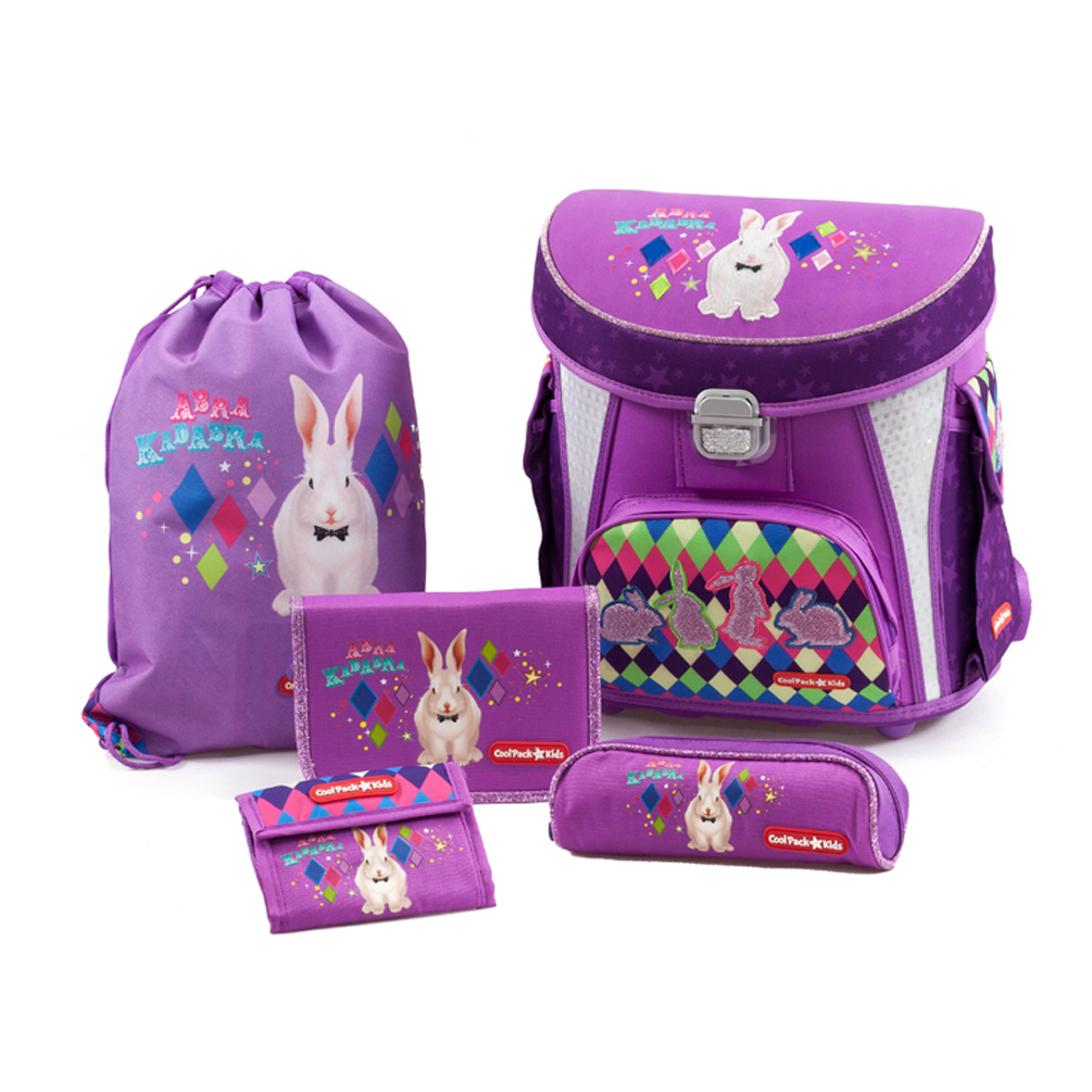 Školská taška 5-dielny set CoolPack Kids Magic