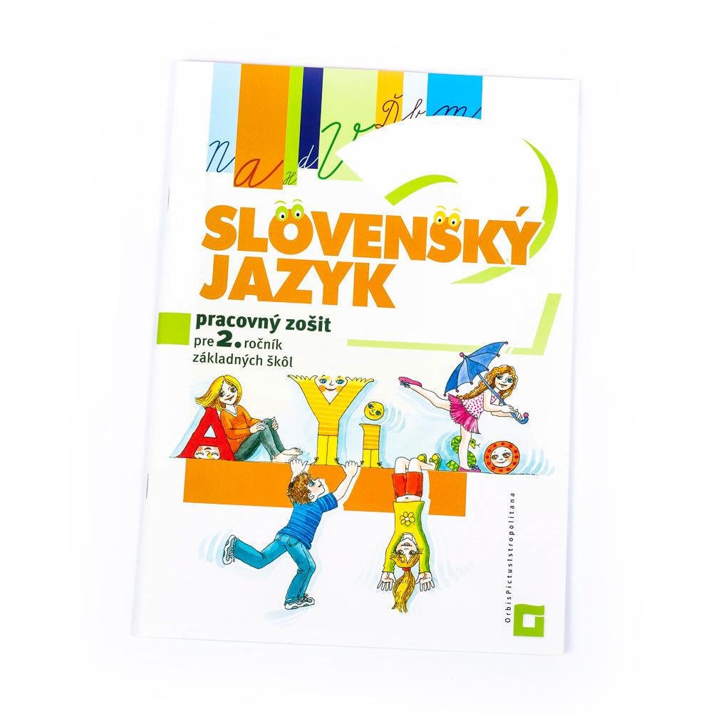 Slovenský jazyk - pracovný zošit pre 2.ročník ZŠ