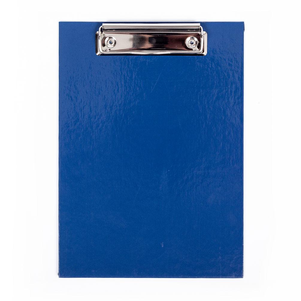 Doska s klipom A5 laminovaná, modrá